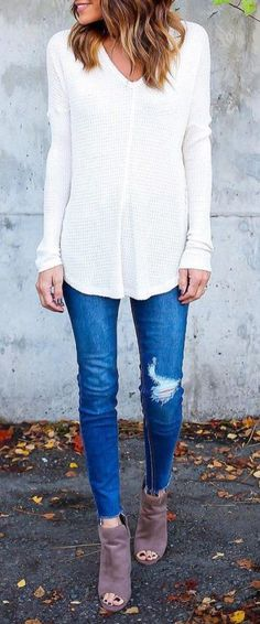 Open toed ankle boots are perfect for those warm fall days!