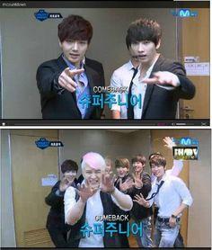 Super Junior on MCD