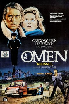 popcorncinemashow: The Omen (1976) Horror Movie Starring Gregory Peck ; Lee Remick ; David Warner & Patrick Troughton Great Horror Movies / Movie Posters Horror Films PopcornCinemaShow - For more from the movies, head over to: https://www.youtube.com/user/PopcornCinemaShow