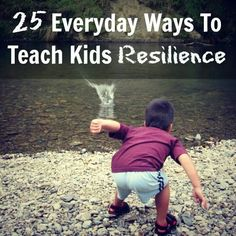 Teaching children resiliency