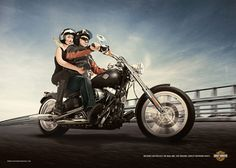 """Turkish PR firm, Big, made this print advertisement for Harley Davidson motorcycles. The print reads, """"Nothing can replace the real one. Use original Harley-Davidson parts. Harley Davidson Parts, Harley Davidson Motorcycles, Great Ads, Creative Advertising, Advertising Agency, Car Pictures, Photos, Istanbul, At Least"""