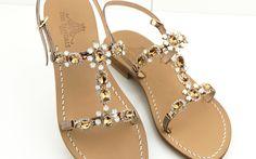 get ready to shine..... Dea Sandals Capri sandali gioiello capresi fatti a mano shop online www.deasandals.com