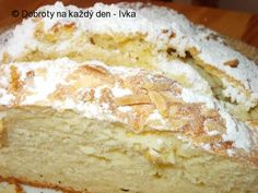 Slovakian Food, Easter Recipes, Food Dishes, Vanilla Cake, Bread Recipes, Sweet Recipes, Banana Bread, Bakery, Deserts
