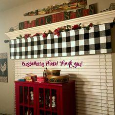 Check Curtains, Cafe Curtains, Custom Curtains, Valance Curtains, Buffalo Plaid Curtains, Stitch Lines, Premier Prints, Home Decor Fabric, Lining Fabric