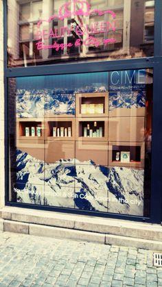CÎME in Ghent # window#shop#BeautyQueen