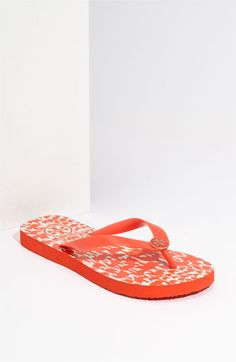 tory burch flip flops   I feel like I live in all my tory flop's... Super comfy and always cute