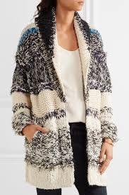 CHLOÉ Oversized chunky-knit cotton-blend cardigan