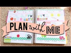 Plan With Me (First Week of May) | JaaackJack