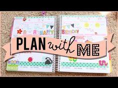 Plan With Me (First Week of May)   JaaackJack