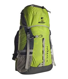 Buy Rock & Ice Yellow / Orange / Green Online For Cheap Green Backpacks, Diy Kleidung, Backpack Online, Go Hiking, Rock, North Face Backpack, Orange, Yellow, Travel With Kids
