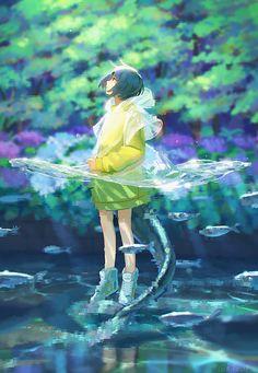 Wallpaper Animes, Anime Scenery Wallpaper, Anime Artwork, Animes Wallpapers, Anime Art Girl, Manga Art, Anime Girls, Manga Anime, Anime Fantasy