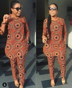 Stunning Ankara Tops And Trouser Styles For Super Ladies African Fashion Ankara, Latest African Fashion Dresses, African Dresses For Women, African Print Dresses, African Print Fashion, Africa Fashion, African Attire, African Dress Designs, African Women Fashion