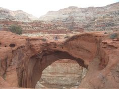 Cassidy Arch - Capitol Reef National Park