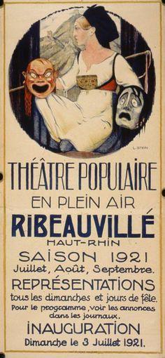 Theatre populaire en plein air, Saison 1921 juillet, aout, septembre