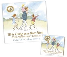 We're Going on a Bear Hunt Website with resources and videos