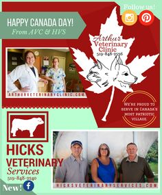 We will soon be celebrated in an ad feature for on in our Did you know that we get to work in what was awarded as most It is an award earned during the times of the world wars and we still wear it proudly. Veterinary Services, Happy Canada Day, Newspaper, Did You Know, Ontario, Times