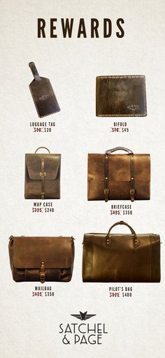 Satchel & Page - Leather Bags Guaranteed For Life by Satchel & Page — Kickstarter