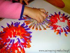 Fajerwerki na papierze | Zainspiruj malucha