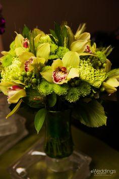 Green floral bouquet by Dream Bouquet Floral Bouquets, Garden Inspiration, Flower Arrangements, Wedding Ideas, Table Decorations, Green, Plants, Flowers, Flower Bouquets