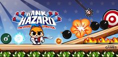 Hank Hazard: The Stunt Hamster  Awesome puzzle type game. Comparisons made to Amazing Alex, but this is much more fun!