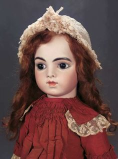 The Great Man's Doll: 378 Pretty French Bisque Bebe Bru Jne,Size 12,from the Anne Rice Collection