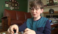 Researchers use google glass for autistic children. From 100 autistic childrens, Julian Brown has trouble reading emotions in people's faces, one of the biggest challenges for people with the Sensory