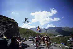 Jumping Tour de France