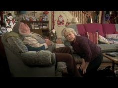 http://www.bbc.co.uk/programmes/p011907s Grandad has fallen asleep sitting on Hilary's mobile phone. When Hilary hears her phone ringing, she has no choice but to take the call from Grandad's lap...