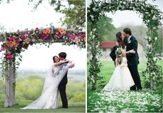 Wedding Ceremony Decor – Altars, Canopies, Arbors, Arches and Chuppahs - Part 2 - Belle the Magazine . The Wedding Blog For The Sophisticated Bride