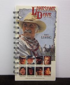 Recycled Notebook From Lonesome Dove Leaving by AWRecycledJournals