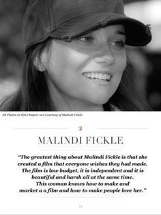 Award-winning director, Malindi Fickle. WILLiFEST 2014 top winner!