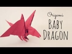 "Origami Baby Dragon Tutorial (Tadashi Mori) - Published on Dec 6, 2013 TadashiMori Patreon page: http://www.patreon.com/tadashimori Facebook page: http://www.facebook.com/TadashiOrigami  Baby Dragon, by Tadashi Mori. Recommended paper: Any ""not too thick"" paper, 20 x 20cm. (8x8 in) CP: http://origamiyard.com/origamis/baby-...  Flickr: http://www.flickr.com/photos/tadashio...  Video by: Tadashi Mori Don't forget to subscribe =) http://www.youtube.com/tadashimori"