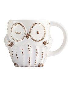 Look what I found on #zulily! White Owl Mug #zulilyfinds
