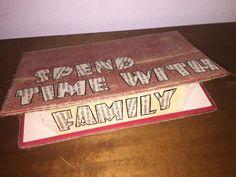 Libro scritta FAMILY