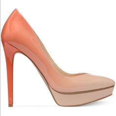 New Jessica Simpson Ombré pumps Size 8. Orange Ombré heels. Feel free to make an offer  Jessica Simpson Shoes Heels