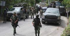 Siete presuntos criminales mueren en choque con militares al norte de México