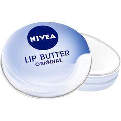NIVEA Lip Butter Original ($1.88) ❤ liked on Polyvore featuring beauty products, skincare, lip care, lip treatments, makeup, beauty, lipbalm, lips, nivea and nivea lip care