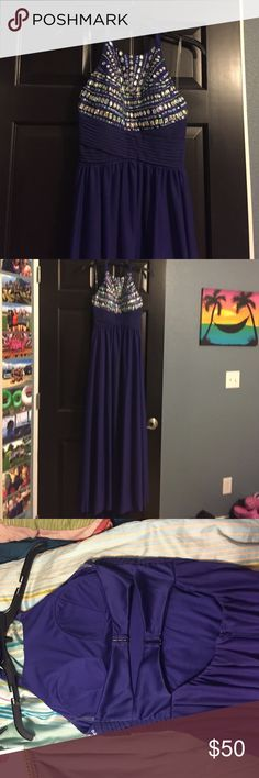 Purple prom dress Only worn once, no damages. Dresses Prom