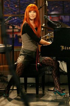 Tori Amos is such a huge influence on my musical compositions. I respect her so much.