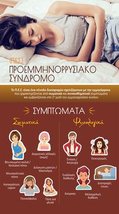 Γνωρίστε καλύτερα το Π.Ε.Σ., καθώς και τα σωματικά και ψυχολογικά του συμπτώματα. Infographics, Fle, Info Graphics, Infographic