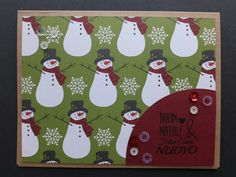 Scrapbooking Christmas card- card natalizie scrap