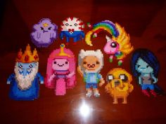 OMG!!!!! These are so cute. #perlerbeads