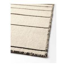 IKEA - RISTINGE, Vloerkleed, glad geweven, Handgeweven door kundige vakmensen, wat elk tapijt uniek maakt. Gefabriceerd in India in door IKEA gecontroleerde weefcentra met goede arbeidsomstandigheden en eerlijke lonen.Dit kleed heeft een slijtvast en vuilafstotend wollen oppervlak, waardoor het uitermate geschikt is voor de woonkamer of voor onder de eettafel.Door het gelijkmatige oppervlak makkelijk te stofzuigen.Het vloerkleed is keerbaar, zodat het langer meegaat, omdat het aan beide…