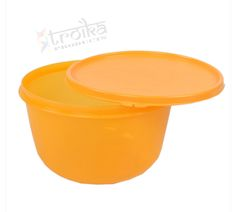#Tupperware SS bowls have been designed to efficiently serve and store food in the refrigerator. Made from high quality food grade polypropylene, these freezer friendly plastic containers have a capacity of 2 liters and are safe for regular use since it is BPA free and does not release harmful chemical to the food content. The