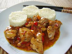 Curry, Asian Recipes, Ethnic Recipes, Kung Pao Chicken, Chinese Food, Crockpot Recipes, Baking, Cookies, Drinks