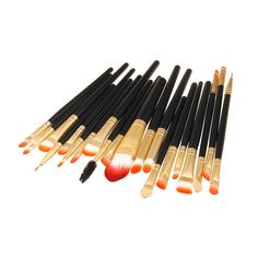 Professional Makeup Brushes Set Foundation Eyeshadow Eyeliner Lip Brush Tool