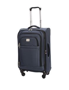 """Shop today for Dockers® 20"""" Blue Spinner Luggage & deals on Wheeled Luggage! Official site for Stage, Peebles, Goodys, Palais Royal & Bealls."""