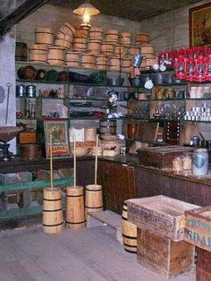 Old-Fashioned General Store   Old-Fashioned General Store   had in mind an old fashioned general ...