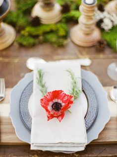 poppy place setting