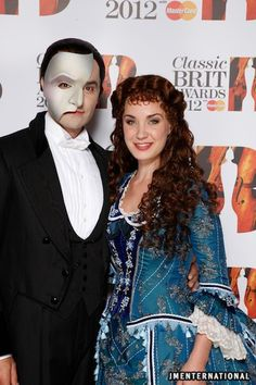 Ramin Karimloo & Sierra Boggess at the Classic BRIT Awards 2012